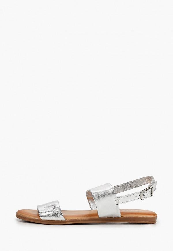 женские сандалии thomas munz, серебряные