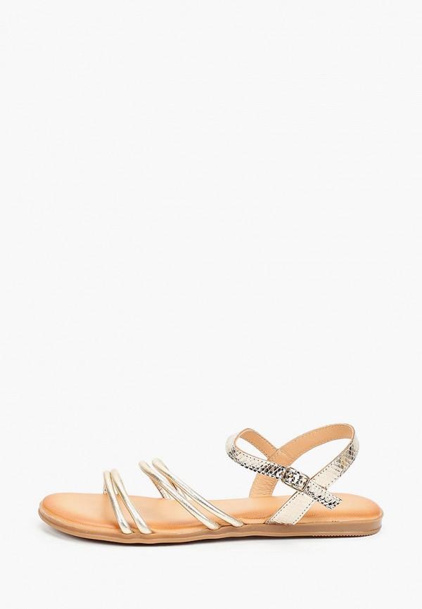 женские сандалии thomas munz, золотые