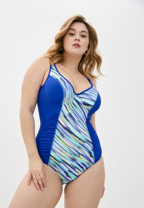женский купальник emdi, синий