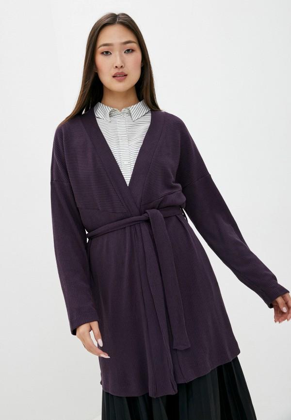женский кардиган mark formelle, фиолетовый