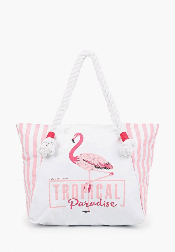 женская пляжные сумка antan, белая