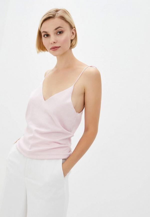 женский топ nataclub, розовый