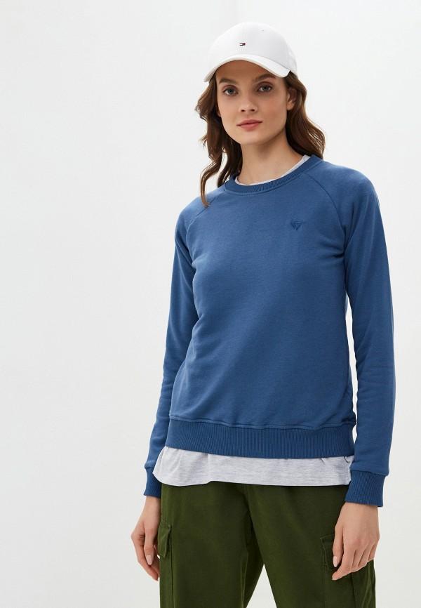 женский свитшот viserdi, синий
