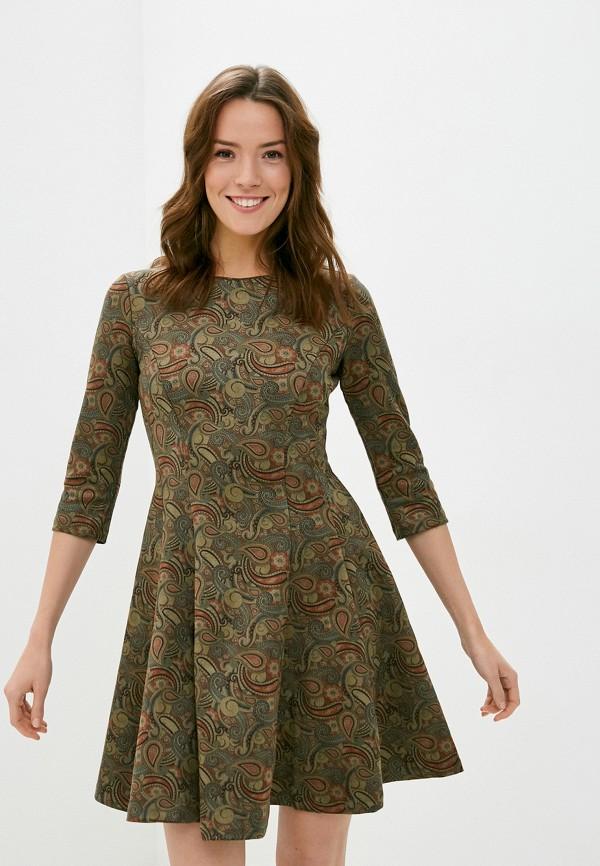 женское повседневные платье viserdi, хаки