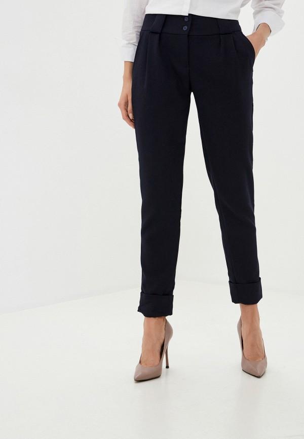 женские классические брюки viserdi, синие