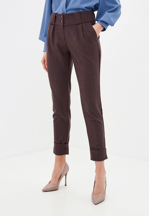 женские повседневные брюки viserdi, фиолетовые
