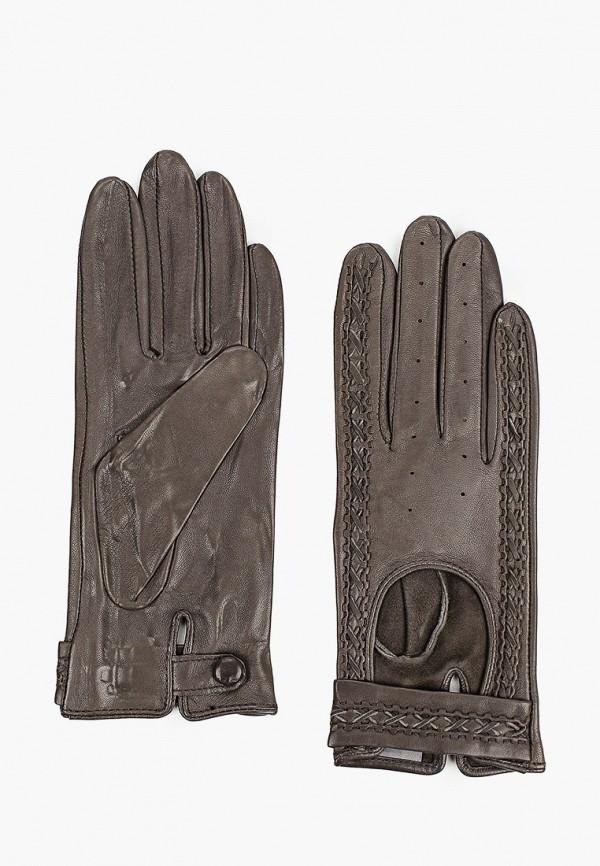 женские кожаные перчатки lantana, серые