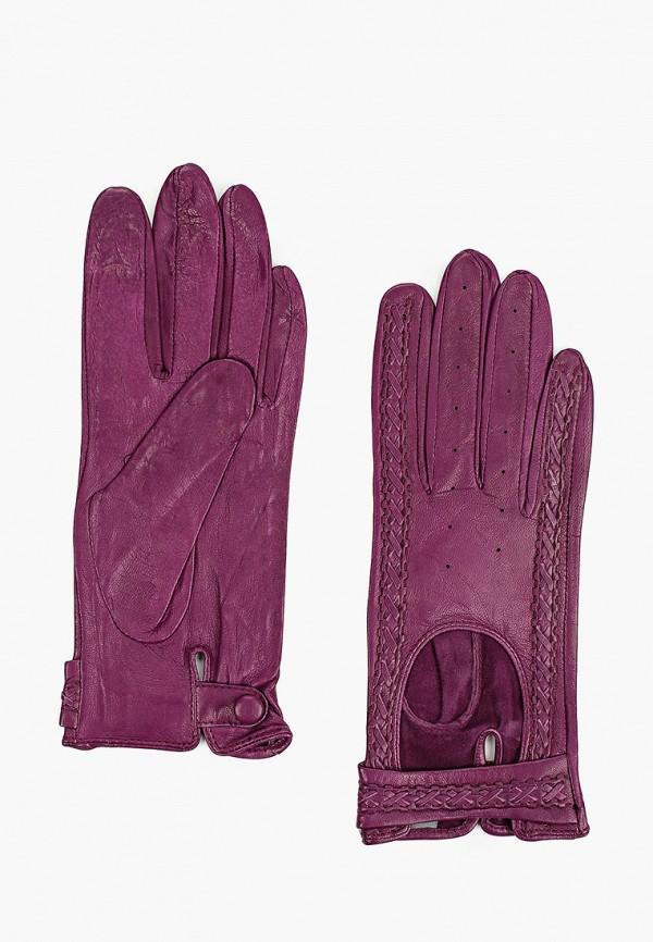 женские кожаные перчатки lantana, фиолетовые
