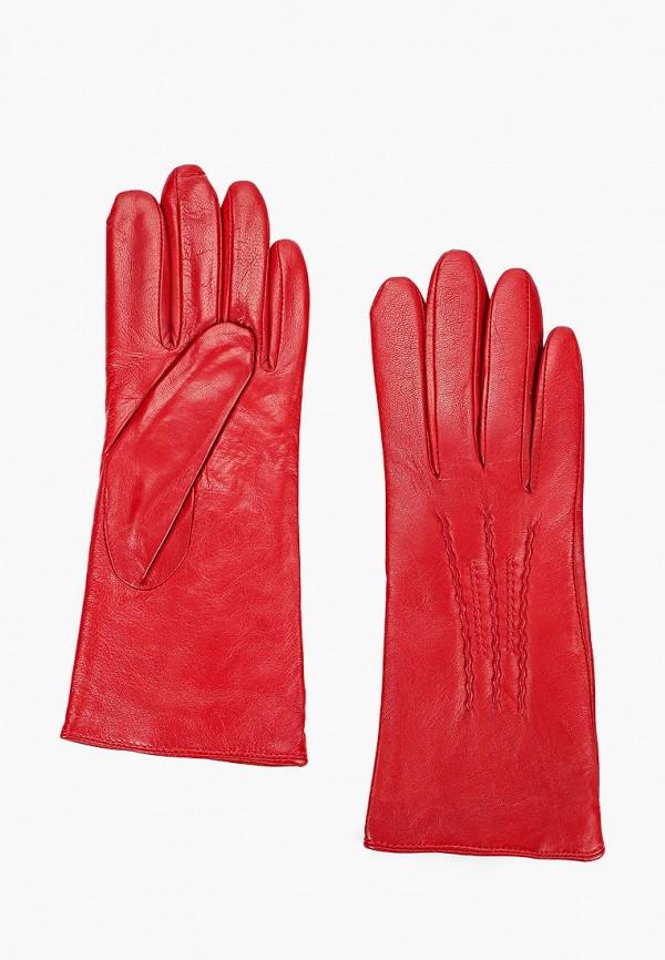 женские кожаные перчатки lantana, красные