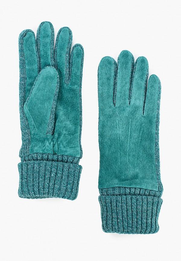 женские кожаные перчатки onigloves, бирюзовые