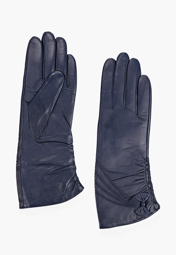 женские кожаные перчатки lantana, синие