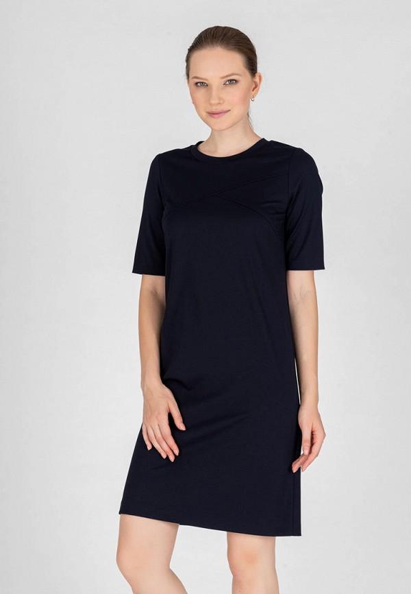 женское повседневные платье eliseeva olesya, синее