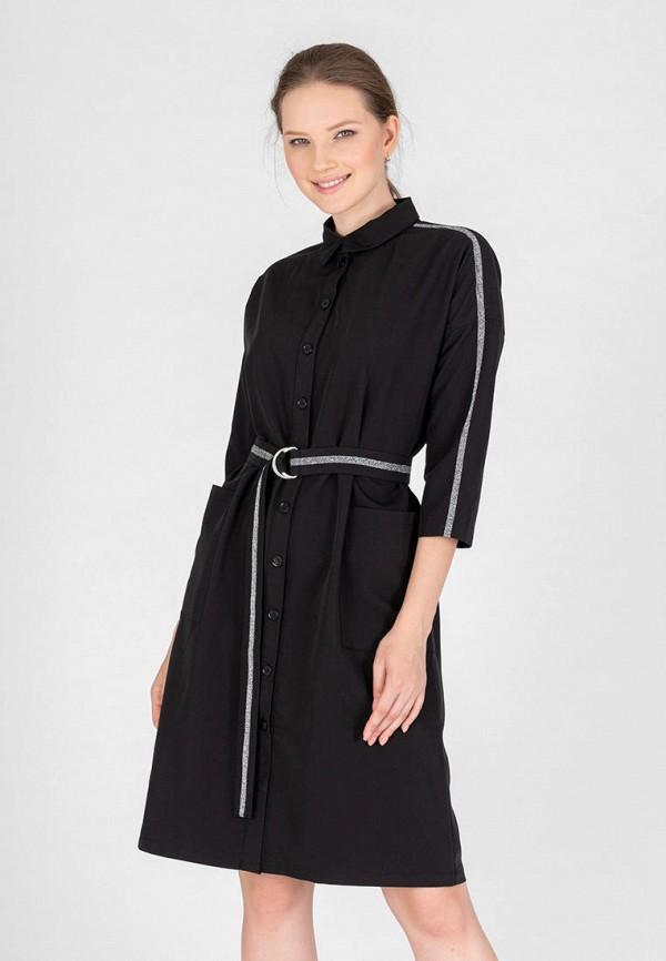 женское платье-рубашки eliseeva olesya, черное