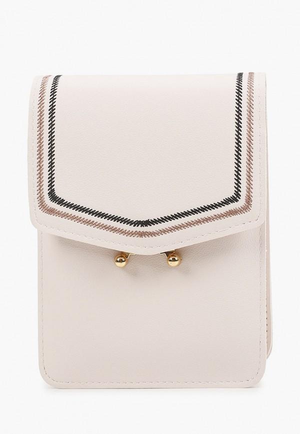 женская сумка через плечо bradex, белая