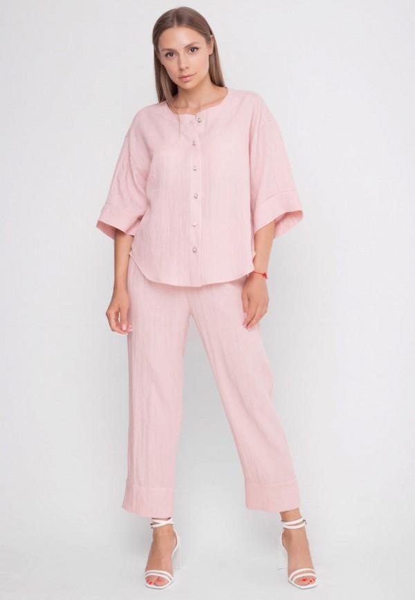 женский костюм sfn, розовый