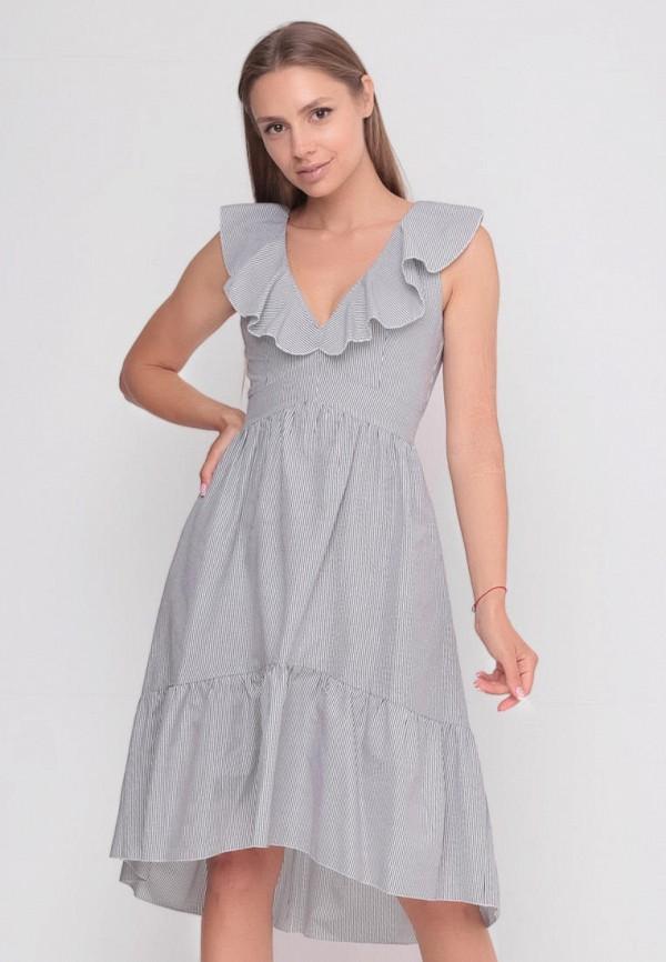 женское повседневные платье sfn, серое