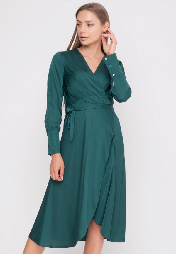 женское платье sfn, зеленое