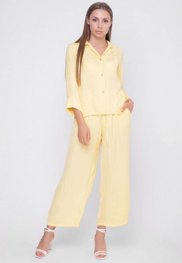 женский костюм sfn, желтый