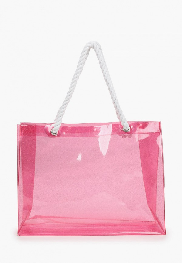женская сумка-шоперы wow miami, розовая