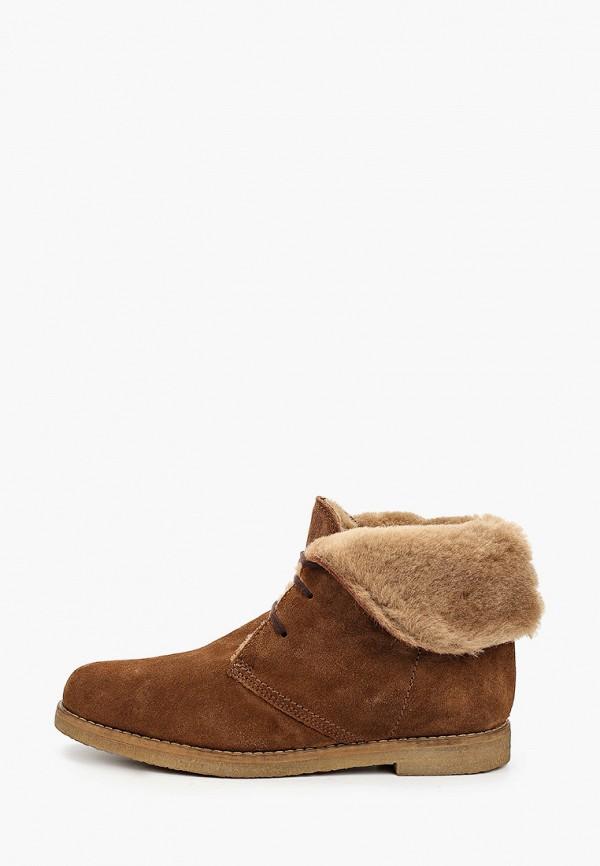 женские высокие ботинки pazolini, коричневые