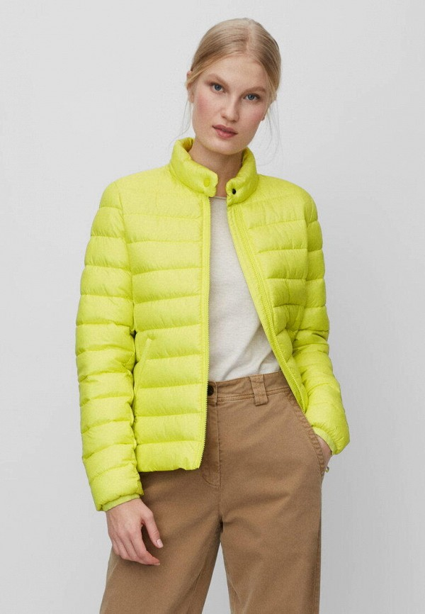 женская куртка marc o'polo, желтая
