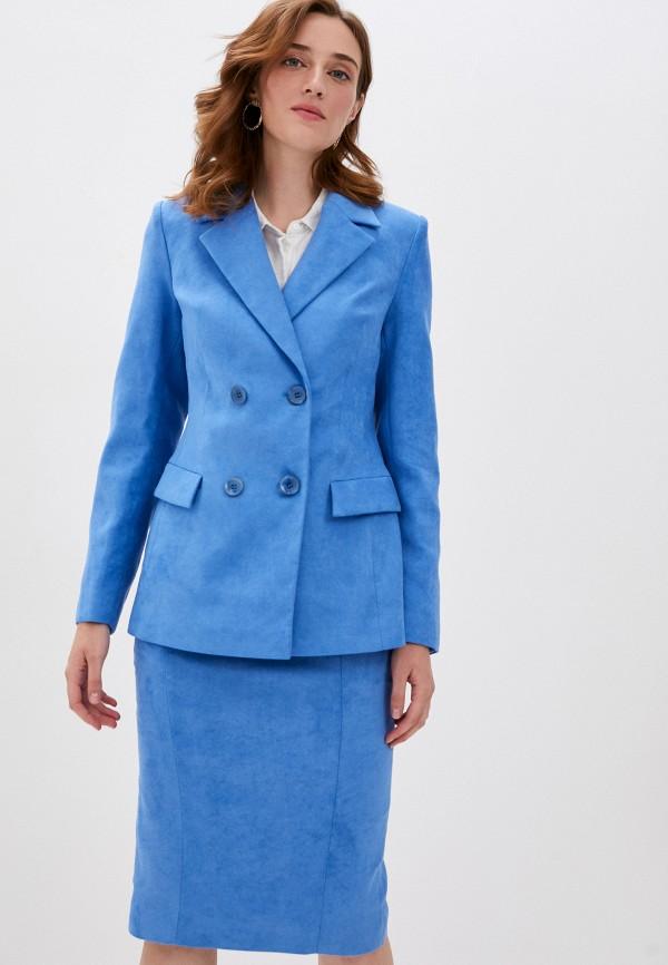 женский костюм ruxara, голубой