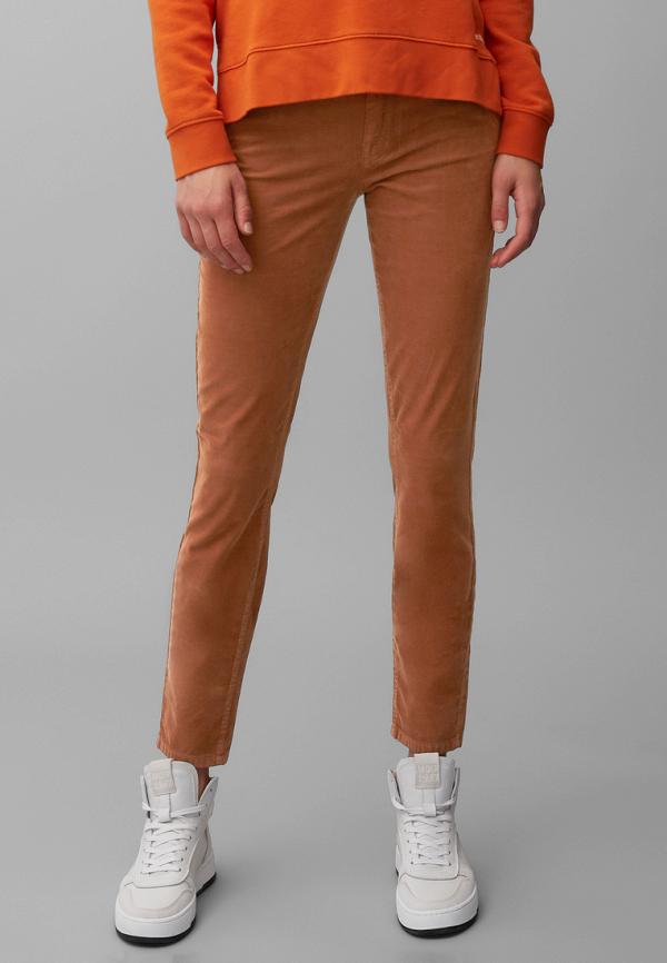 женские повседневные брюки marc o'polo, коричневые