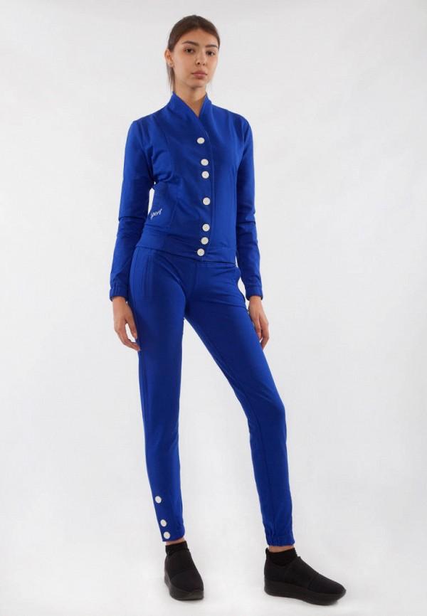 женский спортивный костюм bodro design, синий