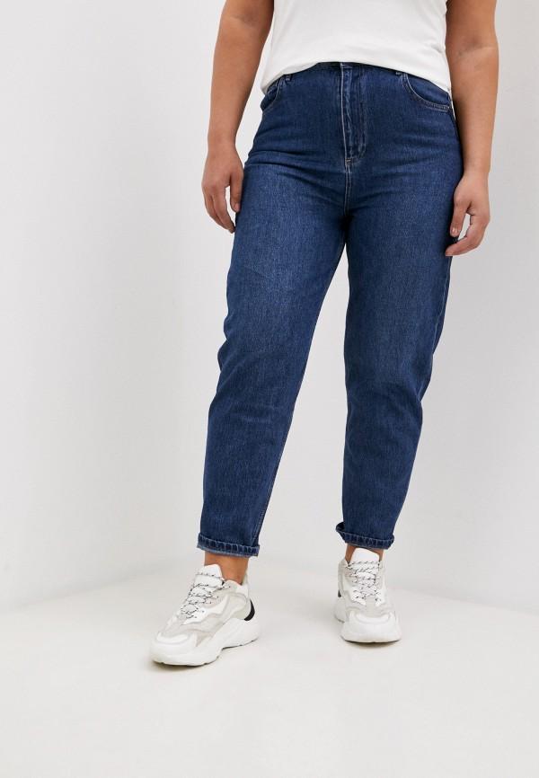 женские джинсы-мом antiga, синие