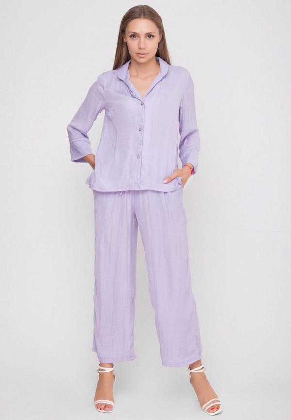 женский костюм sfn, фиолетовый