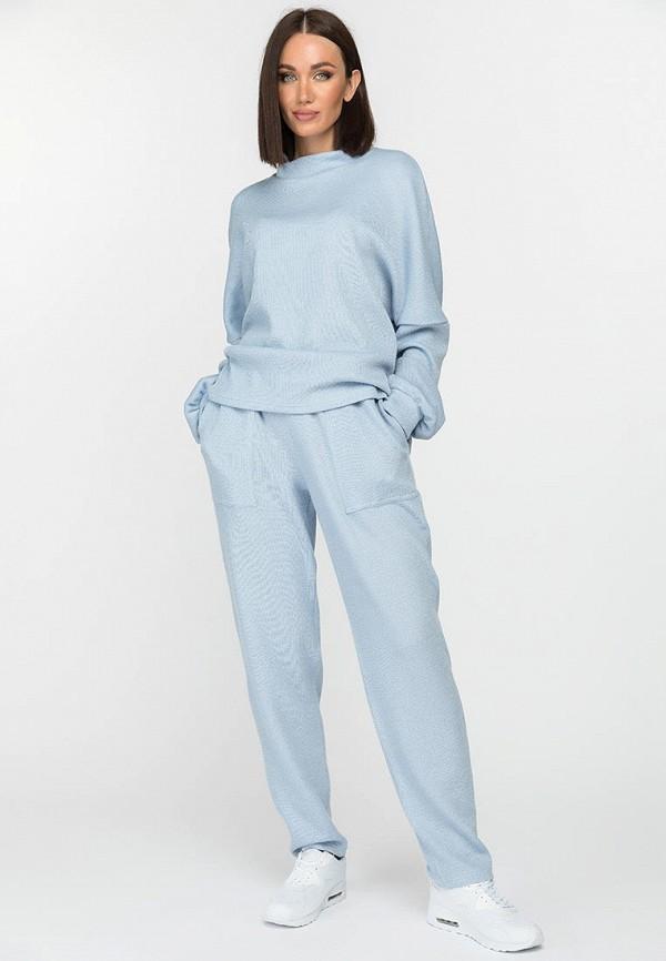 женский вязаные костюм gloss, голубой