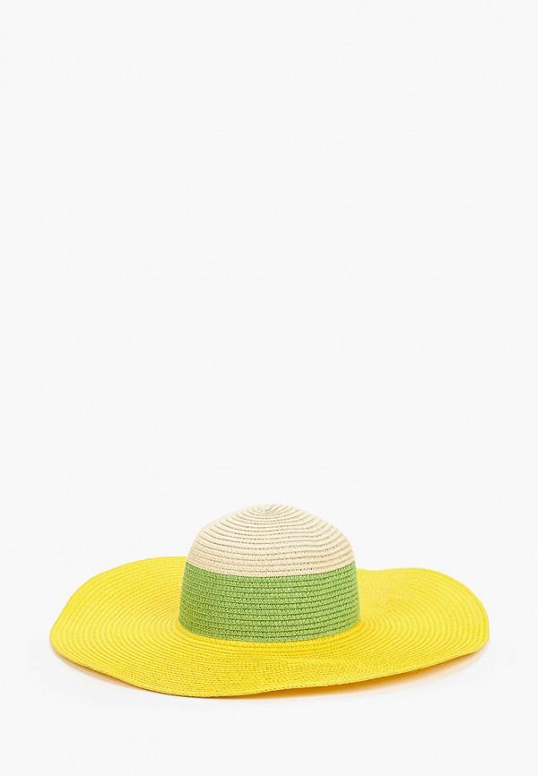 женская шляпа katomi, желтая