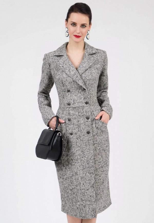 женское платье-пиджаки grey cat, серое