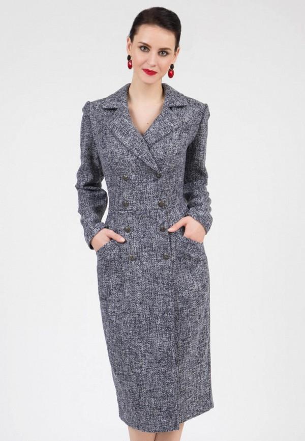 женское платье-пиджаки grey cat, синее