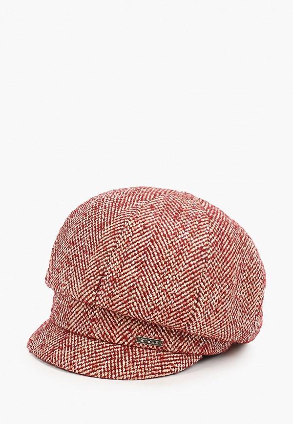 женская кепка сиринга, бордовая