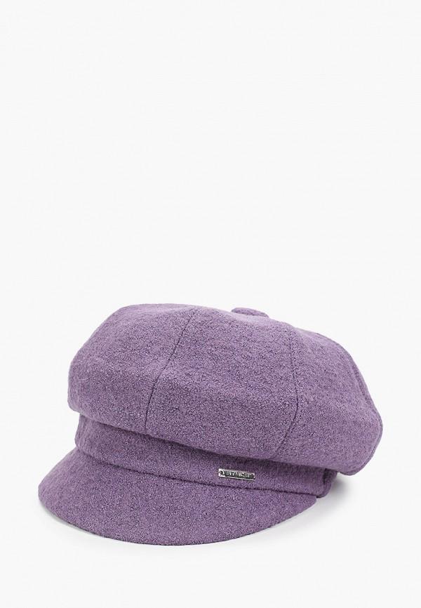 женская кепка сиринга, фиолетовая