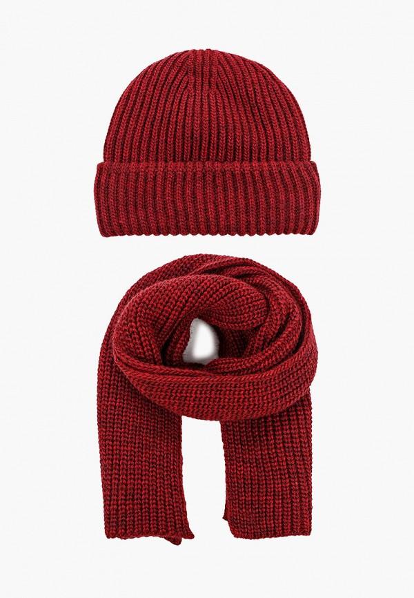 женский шарф сиринга, бордовый