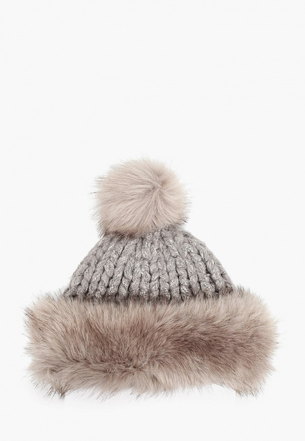 женская шапка zemsa, серая