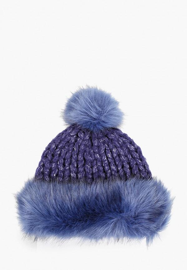 женская шапка zemsa, синяя