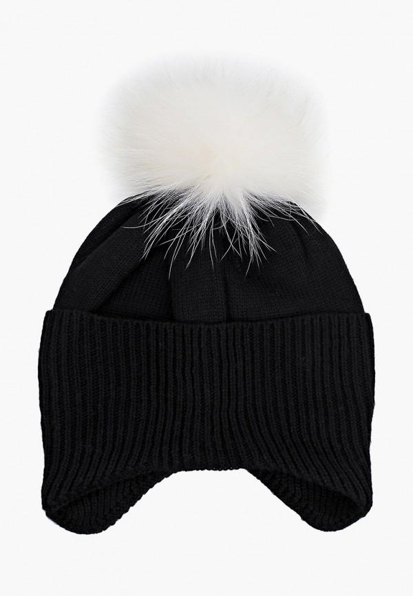 женская шапка zemsa, черная