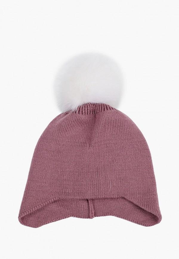 женская шапка zemsa, розовая