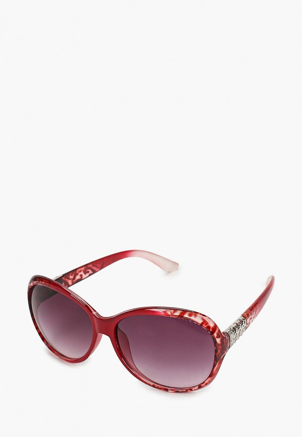 женские круглые солнцезащитные очки красная жара, разноцветные