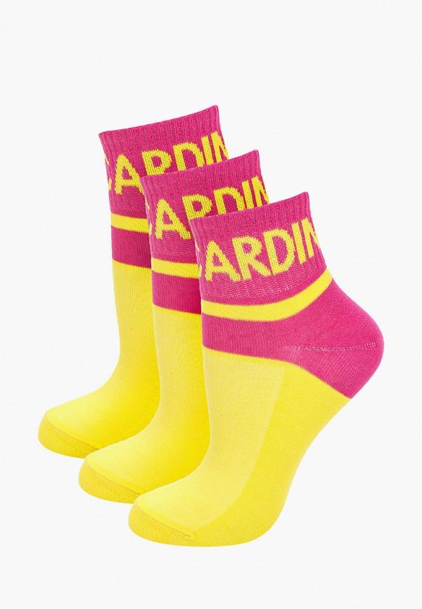 Носки 3 пары Pierre Cardin желтого цвета