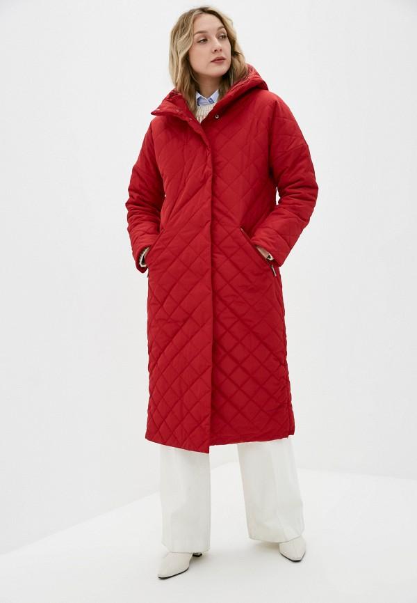 женская утепленные куртка dizzyway, красная