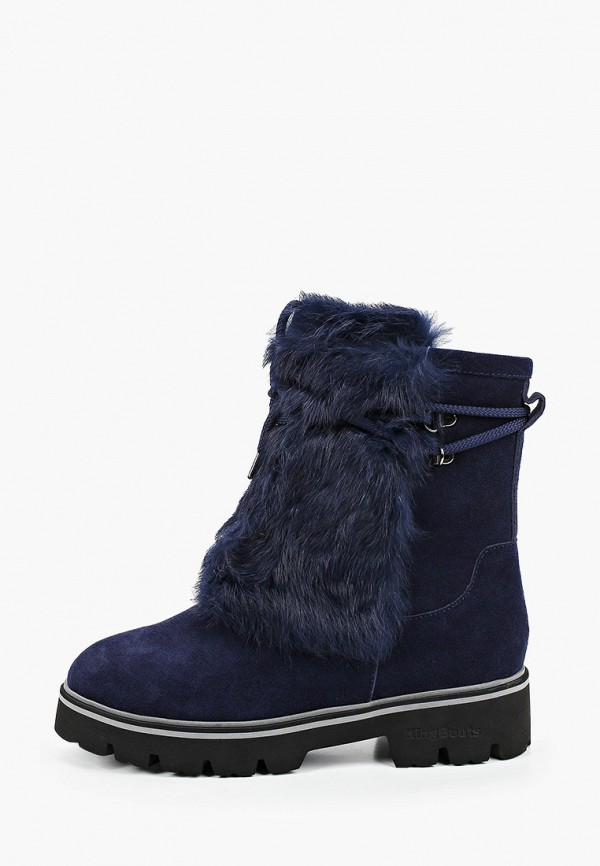 женские сапоги king boots, синие