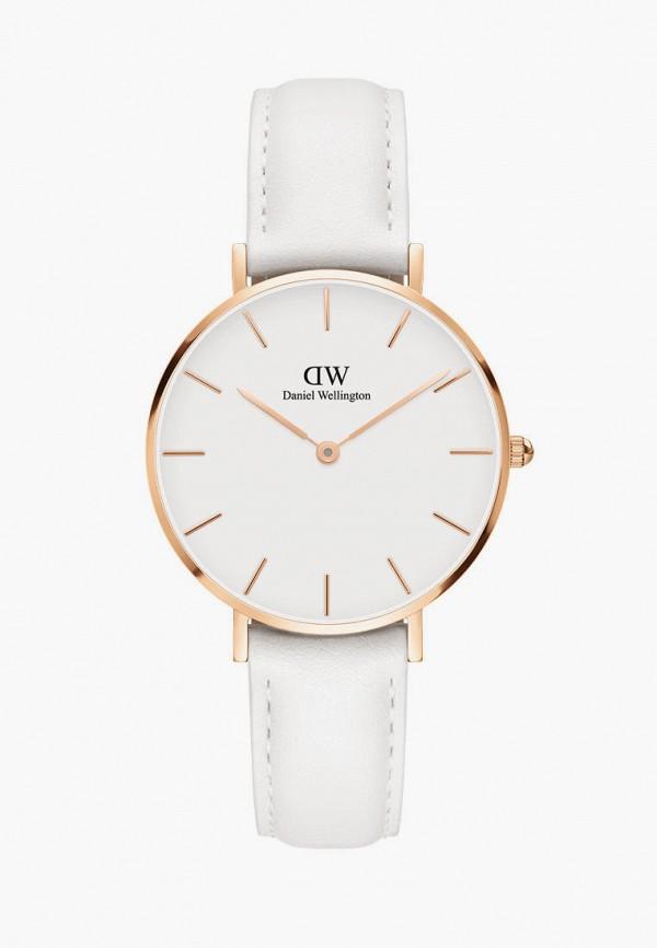 женские часы daniel wellington, белые