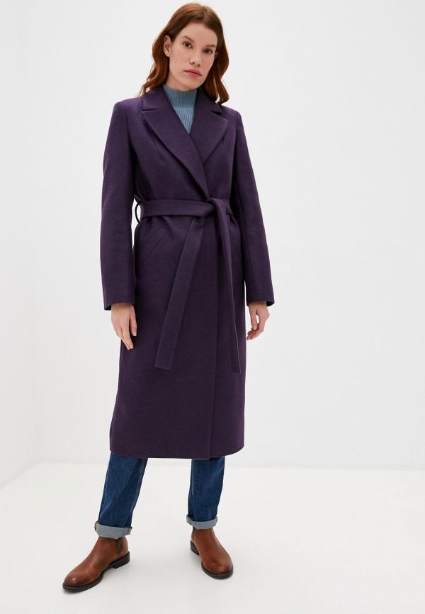 женское пальто ovelli, фиолетовое