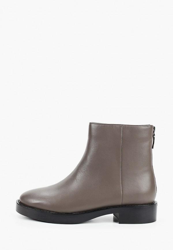 женские высокие ботинки thomas munz, серые