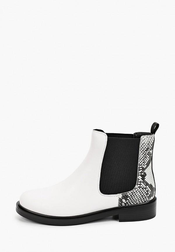 женские ботинки-челси thomas munz, белые