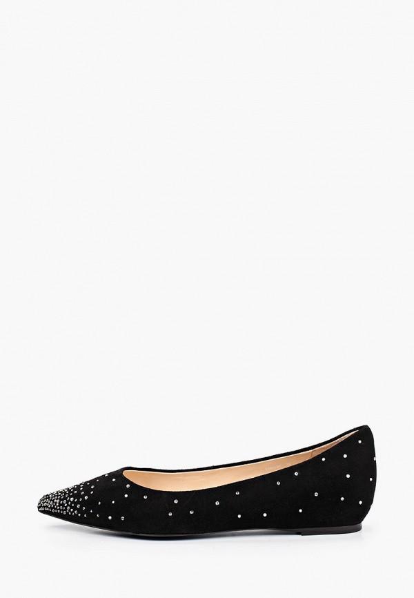 женские туфли с закрытым носом basconi, черные